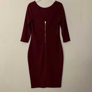 Express Midi Bodycon Dress